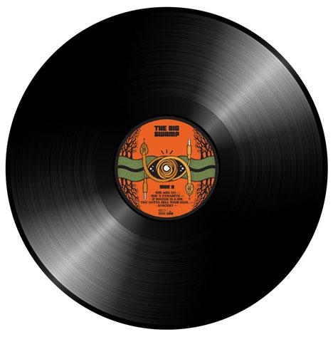 The Big Swamp - Vinyl Schallplatte
